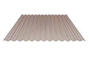 41+Kz7PE69L 310x205 - Lichtplatte | Wellplatte | Lichtwellplatte | Material Acrylglas | Profil 76/18 | Breite 1045 mm | Stärke 3,0 mm | Farbe Bronze | Wabenstruktur