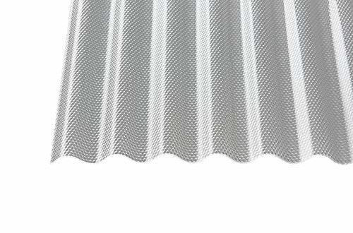 acryl wellplatten profilplatten sinus 76 18 wabe struktur klar 3 mm 2500 x 1045 x 3 mm 500x330 - Acryl Wellplatten Profilplatten Sinus 76/18 wabe Struktur klar 3 mm (2500 x 1045 x 3 mm)