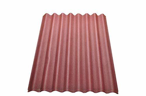 onduline easyline dachplatte wandplatte trapezblech wellplatte 2x076m² rot 500x330 - Onduline Easyline Dachplatte Wandplatte Trapezblech Wellplatte 2x0,76m² - rot