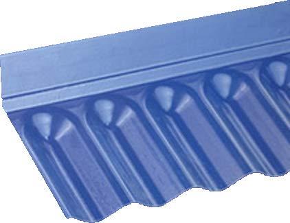wandanschluss fuer pvc wellplatten mit profil 76 18 sinus - Wandanschluss für PVC-Wellplatten mit Profil 76/18 - Sinus