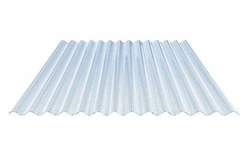 31kp8xdsotL 500x330 - Lichtplatte | Wellplatte | Lichtwellplatte | Material Acrylglas | Profil 76/18 | Breite 1045 mm | Stärke 3,0 mm | Farbe Lichtblau | Wabenstruktur