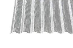 Polycarbonat Wellplatten Profilplatten Sinus 7618 wabe Struktur klar 3000 x 310x205 - Polycarbonat Wellplatten Profilplatten Sinus 76/18 wabe Struktur klar 3000 x 1045 x 2,8 mm