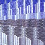 ACRYL - Lichtplatten Profil 76/18 Sinus - Wabe bronze - 3000 x 1045 x 3,0 mm (EUR 24,90/qm) Mindestbestellwert: Euro 100,00