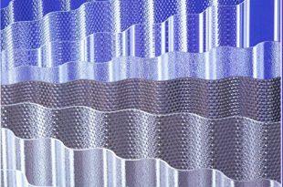 ACRYL Lichtplatten Profil 7618 Sinus Wabe bronze 310x205 - ACRYL - Lichtplatten Profil 76/18 Sinus - Wabe bronze - 3000 x 1045 x 3,0 mm (EUR 24,90/qm) Mindestbestellwert: Euro 100,00