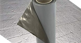 Demmelhuber Dachfolie KSK Aluminium selbstklebend grau 5 m² fuer Flachdachhaeuser 310x165 - Demmelhuber Dachfolie KSK Aluminium selbstklebend grau 5 m² für Flachdachhäuser, Gartenhaus Dach, Metalldachbahn für Gartenhäuser