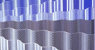 Acryl Lichtplatten 3 mm Profil 7618 Sinus 310x165 - Acryl - Lichtplatten - 3 mm - Profil 76/18 Sinus * glatt klar * (Euro 24,80 qm)